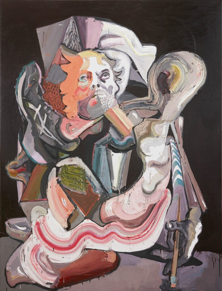 Ben Quilty, After The Pink Dress (Self portrait), 2019