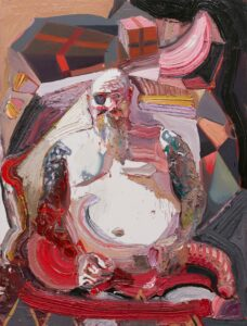 Ben Quilty, Pancreatitis (Kenny), 2018