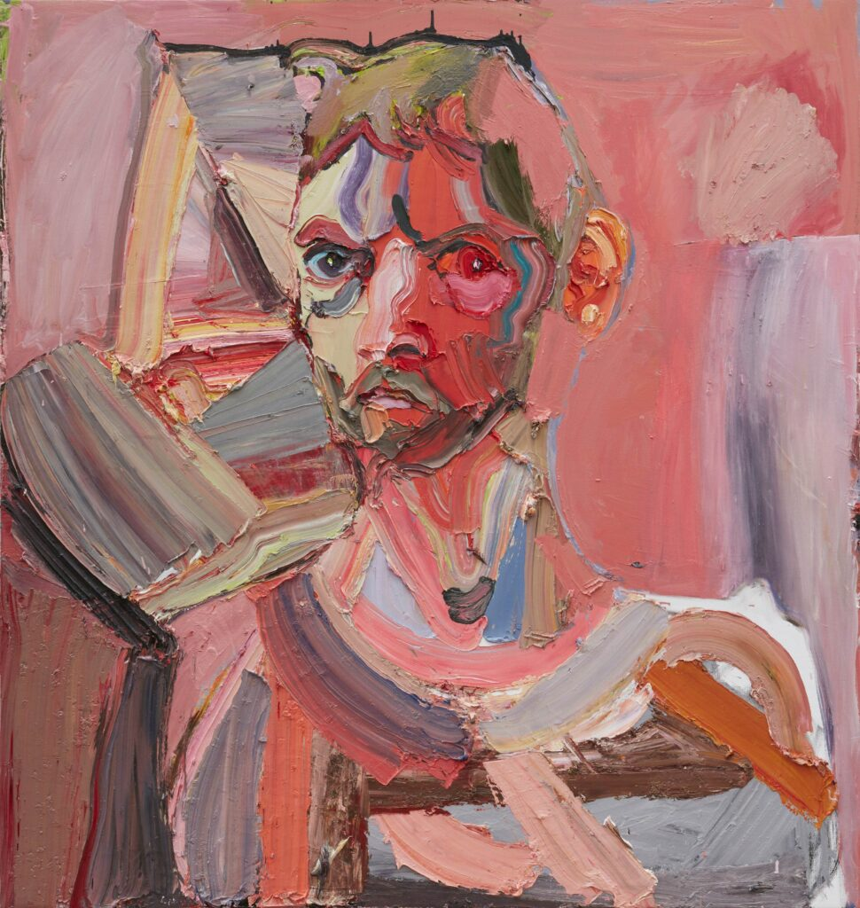 Ben Quilty, Self portrait about my Brother, 2019