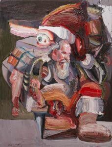 Ben Quilty, The Last Supper ( Bottom Feeder), 2018